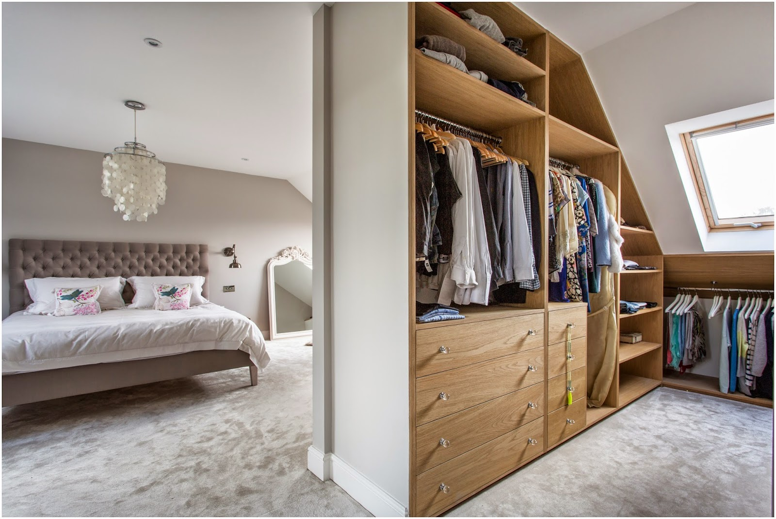 Loft Master Bedroom In South West London - Laura Butler-Madden