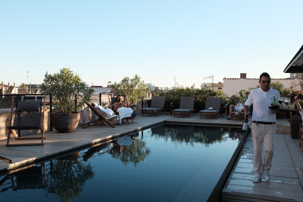 Rooftop swimming pool, Palma