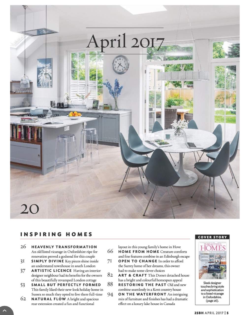 25 Beautiful Homes, April 2017