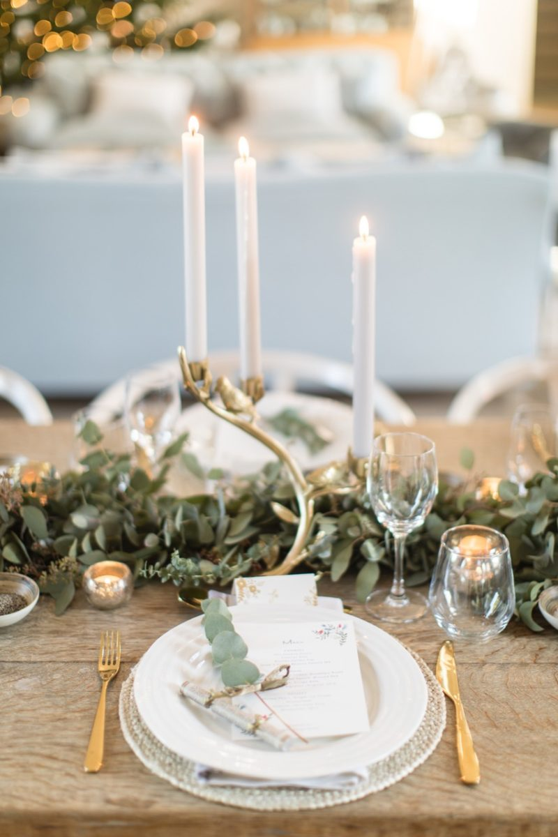 Laura Butler-Madden's Christmas Table Design