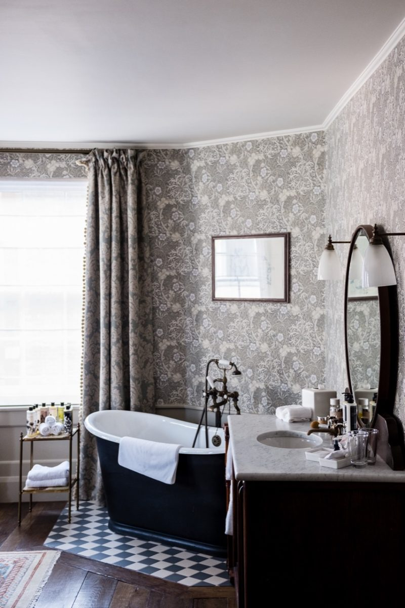 Laura Butler-Madden stays at Kettner's Townhouse