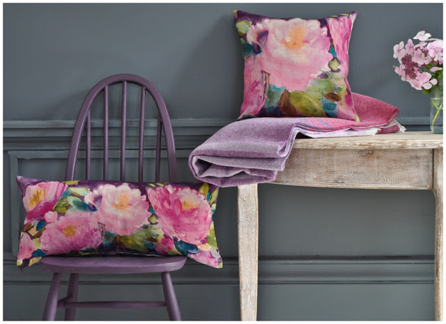 A Palette of Plum from Bluebell Gray