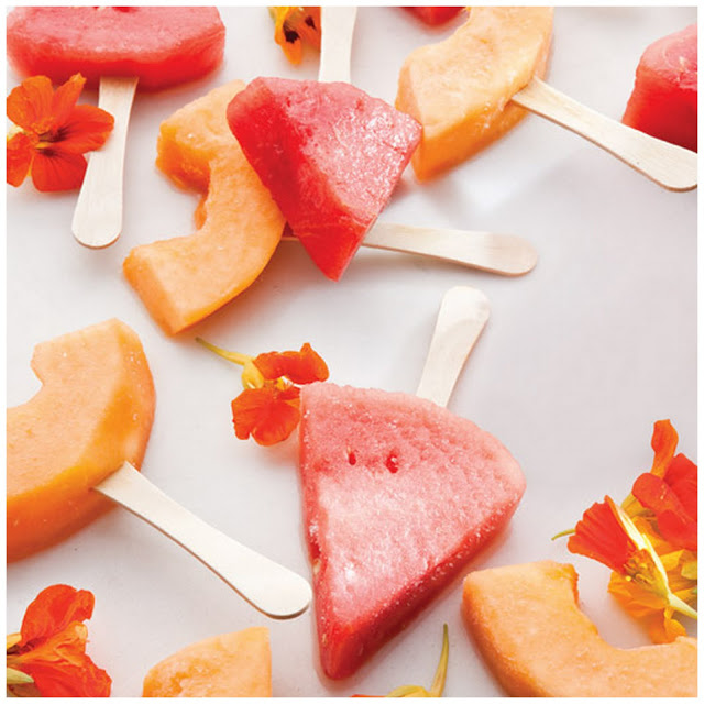 Food and Drink: Melon Margarita Lollies