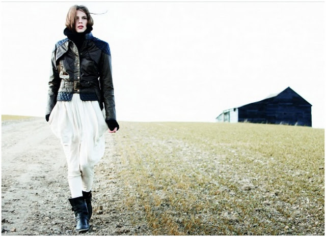 The Great Outdoors: Alice Temperley for Barbour