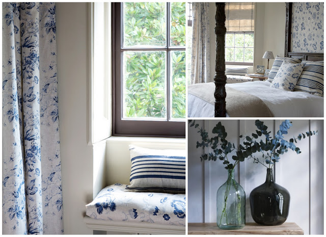 My Home: Curtains from Cabbages and Roses