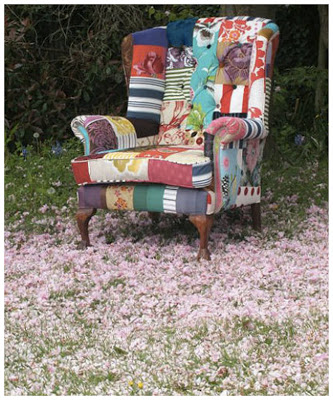 Your Home: Funky Patchwork Furniture