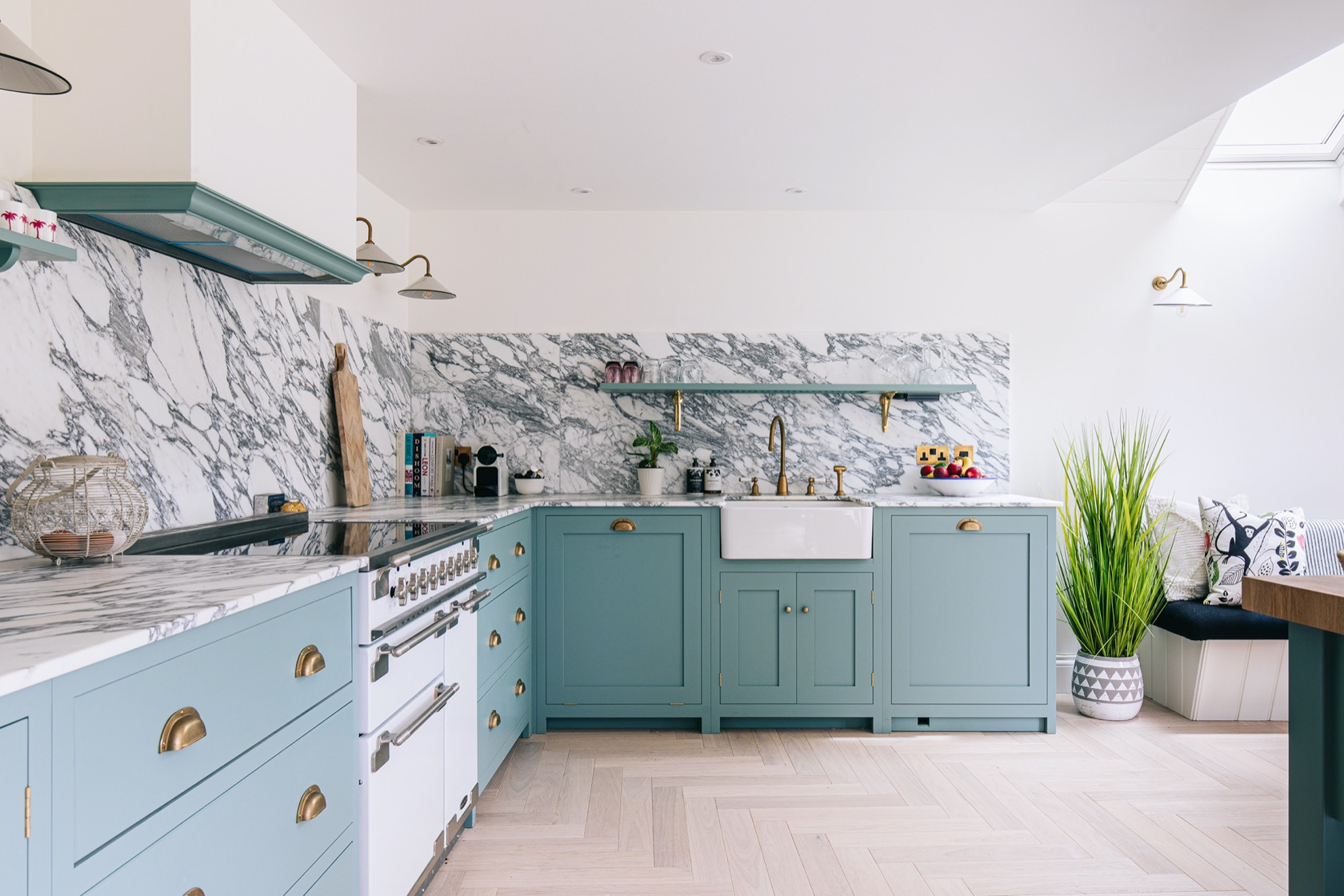 DeVOL kitchen designed by Laura Butler-Madden for her Cotswold Cottage