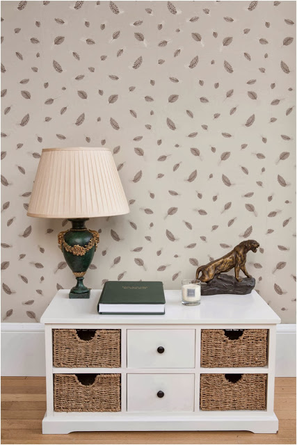 Wildlife Inspired Wallpaper From Juliet Travers
