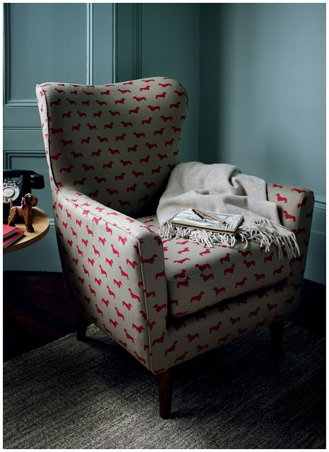 Dachshund Print Chair from John Lewis