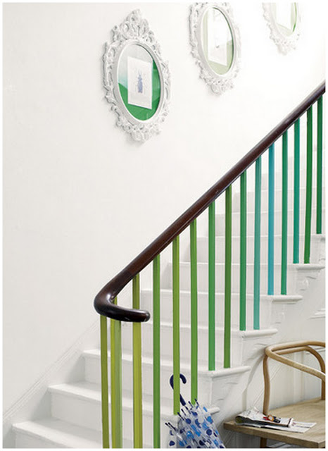 Interiors Inspiration: Colourful Stairs