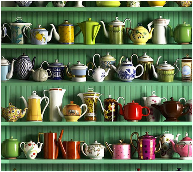 Your Home: Happy Teapots