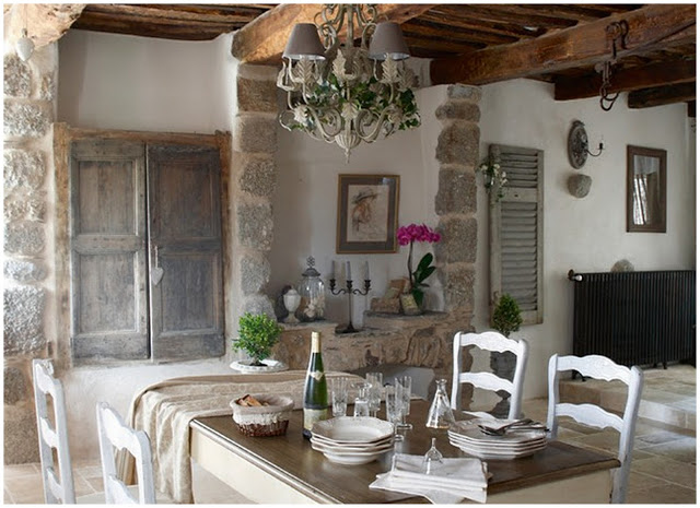 Interiors Inspiration: Dreaming of a French Farmhouse…