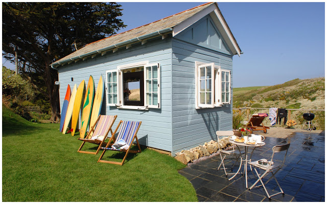 Homes Away From Home: The Limit Beach Hut, Cornwall